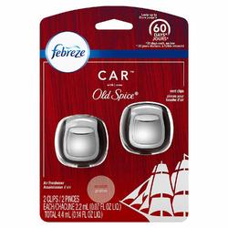 Febreze Car Air Freshener Vent Clips, Original Old Spice Scent