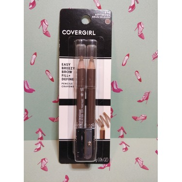 COVERGIRL - Easy Breezy Brow Fill + Define Brow Pencil - Soft Brown