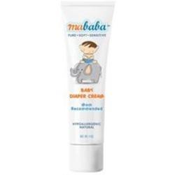 Mababa Baby Diaper Cream - 4 oz - Cream