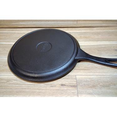 "Cuisinel Cast Iron Round Griddle 10.5"""