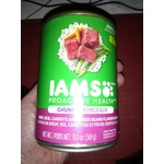 Iams proactive health chunks beef rice carrots and green beans flavor in gravy