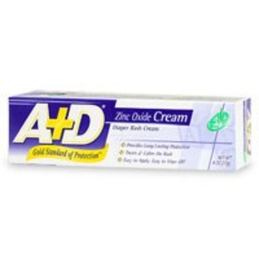 A & D CREAM DIAPER RASH W/ALOE Size: 4 OZ
