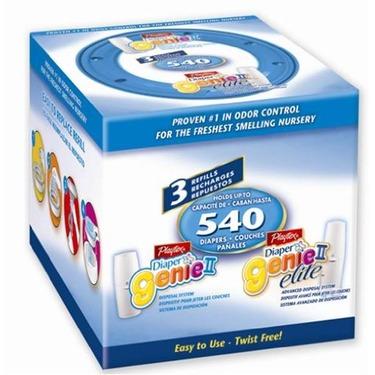 "Playtex Diaper Genie II Advanced Disposal System Refill /""3 Pack/"""