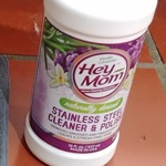 Hey Mom Stainless Steel Cleaner