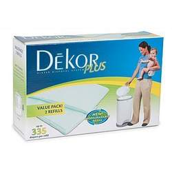 Dekor Plus -2pk Refill Biodegradable