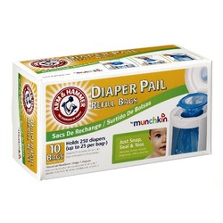 Munchkin Arm & Hammer Diaper  Refill Bags