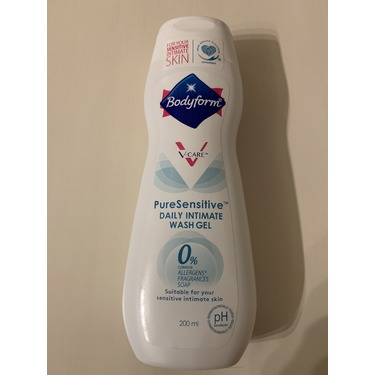Bodyform Pure Sensitive Daily Intimate Wash Gel