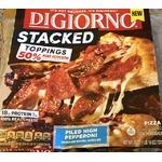 Digiorno Stacked pepperoni pizza
