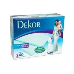 Diaper Dekor Biodegradable, Refills 2 ea