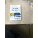 Simply protein Crispy Bars lemon