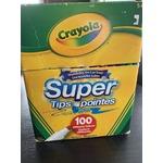 Crayola supertips100 pack