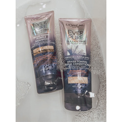 Loreal everpure hair expert sulfate (rosemary) free shampoo and conditioner