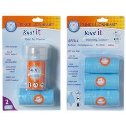 Prince Lionheart Knot-it Dispenser & 3 Pack Refill