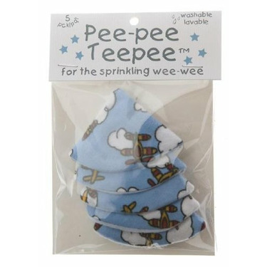 The Peepee Teepee for the Sprinkling WeeWee: Fishing Teepees in Cellophane Bag