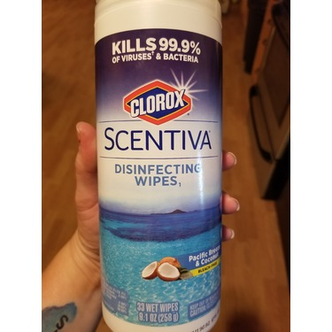 Clorox Scentiva Disinfecting Wipes