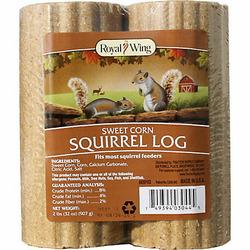 Royal Wing Sweet Corn Squirrel Log