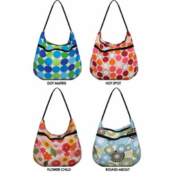Weehuggers Wet Bag - Hobo Bag - Groovy