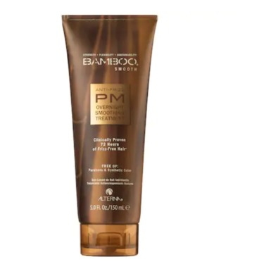 Alterna Haircare Bamboo Smooth PM Anti-Frizz Overnight Smoothing Treatment