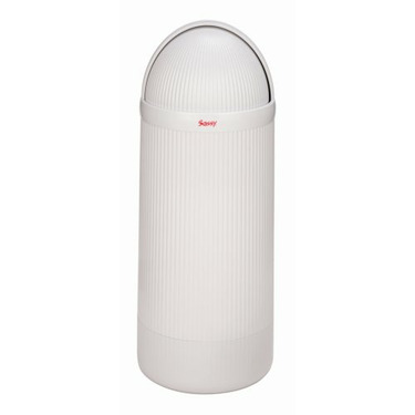 Sassy Hands Free Diaper Pail in White