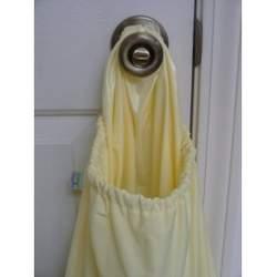 Knickernappies Doorknob Diaper Pail (butter yellow)