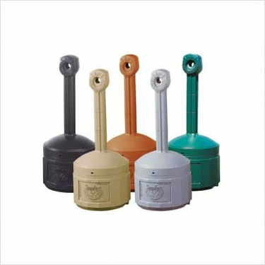 Cease Fire Polyethylene w/Liner Pail Finish: Forest Green