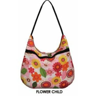 Weehuggers Wet Bag - Hobo Bag - Flower Child