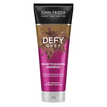 John Frieda Defy Grey Brunette Blending Shampoo