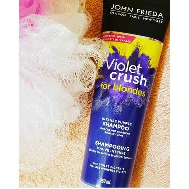 John Frieda Violet Crush for Blondes Intensive Purple Shampoo