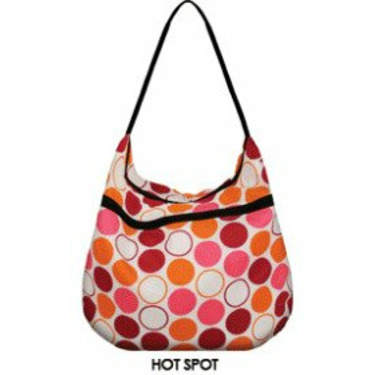 Weehuggers Wet Bag - Hobo Bag - Hot Spot