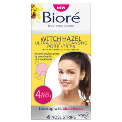 Bioré Witch Hazel Ultra Deep Cleansing Pore Strips