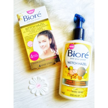 Bioré Witch Hazel Pore Clarifying Cooling Cleanser