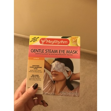 MegRhythm Gentle Steam Eye Mask - Yuzu Citrus