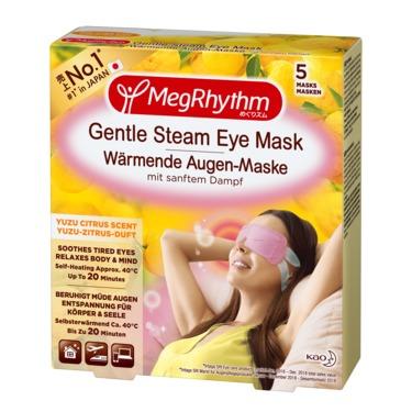 MegRhythm Gentle Steam Eye Mask - Yuzu Citrus