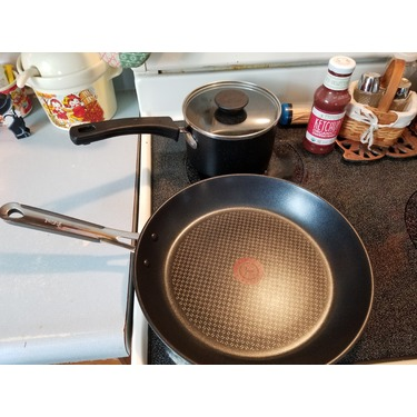 12 inch T-FAL Expert Pro Stainless steel fry pan