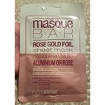 Unmasque Beauty Masque Bar Rose Gold Foil sheet mask