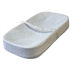 """LA Baby 4 Sided Changing Pad 30"""", White"""