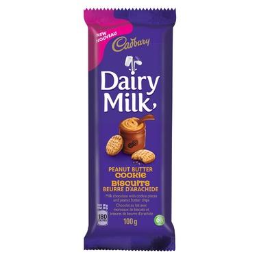 Cadbury dairy milk peanut butter cookie