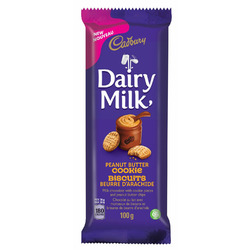 Cadbury dairy milk peanut butter cookie