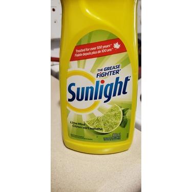 Sunlight dish soap lime