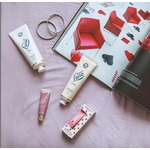 LanoLips SPF30 tinted lip balm in Rhubarb