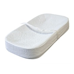 """LA Baby 4 Sided Changing Pad 32"""", White"""