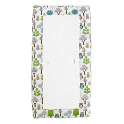 DwellStudio Changing Pad Cover, Owls