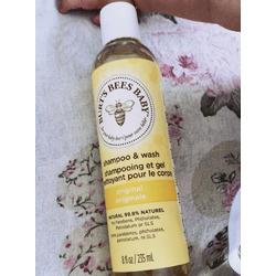 Burt's bee baby shampoo and wash