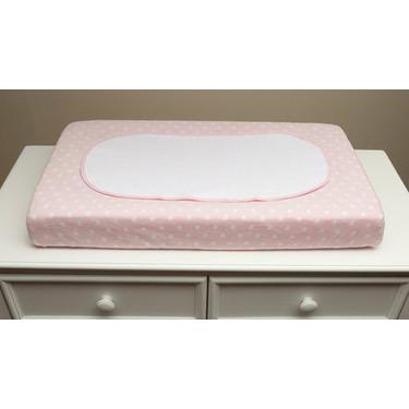 Boppy Organic Changing Pad Set, Pink Polka Dot