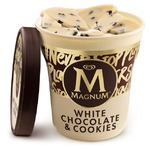 Magnum White Chocolate & Cookies Ice Cream