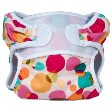 Bummis Swimmi Cloth Diapers, Bubbles, Large (22-30 lbs)