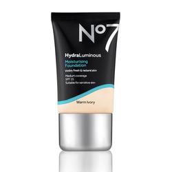 No7 hydraluminous moisturising foundation