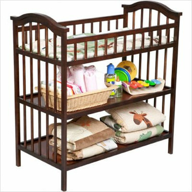 Delta Children's Products Changing Table in Cognac
