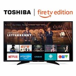 "Toshiba 55"" 4K UHD HDR LED Smart TV - Fire TV Edition"