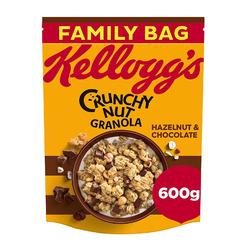 Kellogg's Crunchy Nut Chocolate and Hazelnut Granola